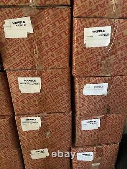 100 Sets Prepacked CABINET DOOR HINGES HAFELE 316.30.549 H-Series 45 110D Inset