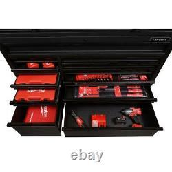 23-Drawer Deep Combination Tool Chest Rolling Cabinet Set 3000lb 18 Gauge Steel