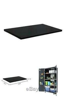 36 W X 1 H X 15 D Steel Shelf Set 36 Tall Garage Cabinet 2 Pack