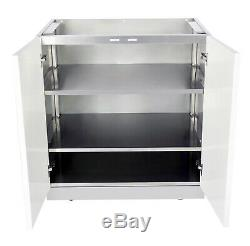 3-Piece stainless steel Outdoor Kitchen Cabinet Set Promotion 4 Life Outdoor