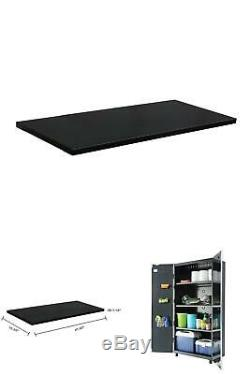 47 W X 1 H X 15 D Steel Shelf Set 48 Tall Garage Cabinet 2 Pack