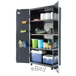 47 in. W x 1 in. H x 15 in. D Steel Shelf Set for 48 in. Tall Garage Cabinet 2