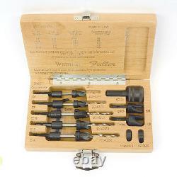 5 PC Taper Drill Bit Set W. L. Fuller #6, #8, #10, #12, #30 10393011C 18939