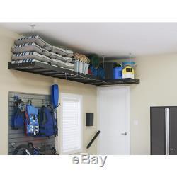 Bold Series 96 in. W x 19.58 in. H x 12 in. D 24-Gauge Steel Cabinet Set in Gray