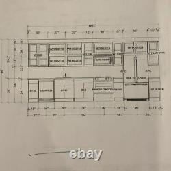 Brand New Complete Set of Kitchen Cabinets