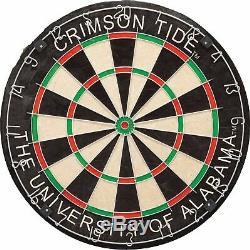 Brand New Imperial NCAA Dart Cabinet Set withSteel Tip Bristle Dartboard