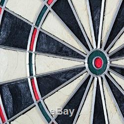 Bullshooter CricketMaxx Series Electronic Dartboard Cabinet Set Play Steel or