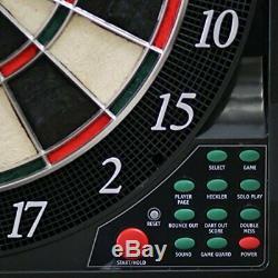 Bullshooter Cricket Maxx 5.0 Electronic Dartboard Cabinet Set Includes 6 Steel