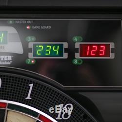 Bullshooter Cricket Maxx 5.0 Electronic Dartboard Cabinet Set Includes 6 Steel 6