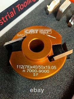 CMT Tools 692.013.09 Cabinet & Joinery Set, 3-1/8-Inch Diameter, 3/4-Inch Bore