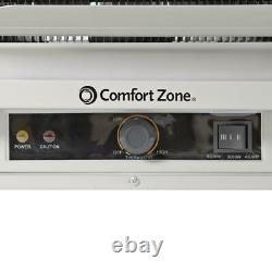 Comfort Zone Electric Industrial Heater 5000 Watt Ceiling Mounted 3-Setting Fan