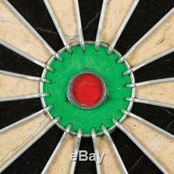 DART BOARD CABINET Game Dartboard Game Set with 6 Deluxe Steel Tip Darts