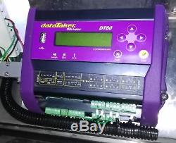 Datataker DT80 Data Logger, Complete set up in Stainless Steel Cabinet