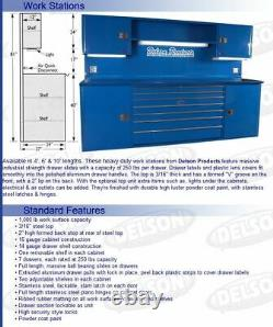 Delson Products Commercial Grade Workstation Storage Cabinet DP120SET