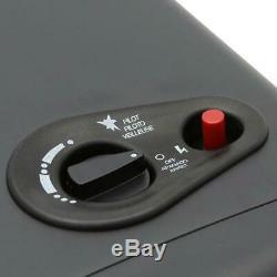 Dyna-Glo Portable Heater 3-Heat Settings Automatic Shut-Off Dial Control Black