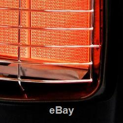 Dyna-Glo Portable Heater Automatic Shut Off Dial Control 3 Heat Settings Black
