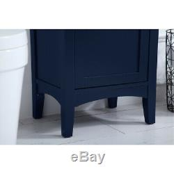 Elegant Lighting VF2318BL Mod Blue Vanity Sink Set