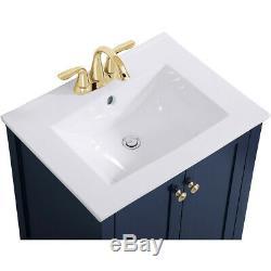Elegant Lighting VF-2003BL Mod Blue Vanity Sink Set