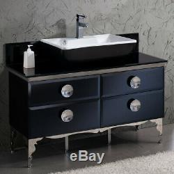 Fresca FCB7714-V Moselle 47-1/4 Free Standing Vanity Set with Steel Cabinet