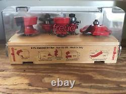 Freud 5 Piece Cabinet Door Router Bit Set 94-100