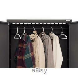 Garage Storage Cabinet Set 104 in. X 77.25 in. X 18 in. Steel Red (2-Piece)
