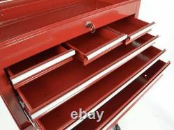 Garage Toolbox Cabinet On Wheels with Tool Box on top, Toolwagen 2 piece Set