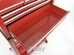Garage Toolbox Cabinet On Wheels with Tool Box on top, Toolwagen 2 piece Set New