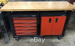Gladiator Garageworks Premier Tool Storage Cabinets and Workbench Set