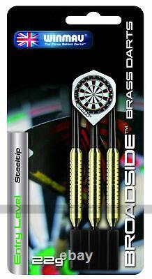 Home Darts Set Deluxe Cabinet, Diamond Plus Dartboard and 6 Steel-Tip Darts