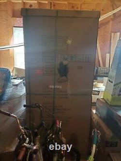 Husky Garage Cabinet Set 3-Piece Steel Storage System NEW DAMAGED BOX