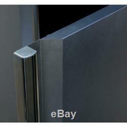 Husky Garage Cabinet Storage Set 78 in. X 75 in. X 19 in. Steel Black (4-Piece)