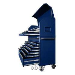 Husky Tool Chest Cabinet Set Heavy-Duty 56-Inch W 23-Drawer Combination