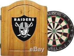 Imperial Officially Licenced NFL Merchandise Dart Cabinet Set with Steel Tip