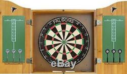 Imperial Officially Licensed NFL Merchandise Dart Cabinet Set with Steel