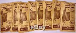 Lot 9+ Pairs 1950's Amerock Cabinet Hinge Set E7645 Chrome NOS 3/4 Flush Doors