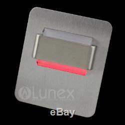 Lunex AMBER LED Decor lightning Closet Cabinet Stair Wall Light Lamp 7 Colors