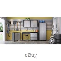 Manhattan Comfort Fortress 2 Door Floating Garage Cabinet (Set of 2)