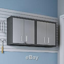 Manhattan Comfort Fortress Floating Garage Set of 2 Cabinet 2-5GMC
