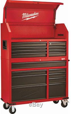 Milwaukee Steel Tool Chest 46in 16 Drawer Rolling Cabinet