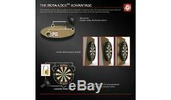 NEW Winmau Blade 5 Championship Darts Set Luxury Black Ash Veneer-Effect Cabinet