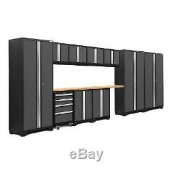 NewAge Bold 3.0 12-Piece Tool Garage Cabinets Chest Workbench Set Gray or Red