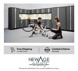 NewAge Bold 3.0 Series 11-piece XP Garage Cabinet Set in Gray, SHIP FROM STORE