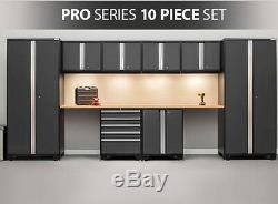 NewAge Pro 3.0 Series 10-piece Garage Cabinets Set Gray, NEW SHIPS FROM FACTORY