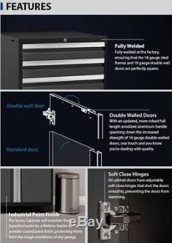 NewAge Pro 3.0 Series 14-piece Garage Cabinets Set Gray, NEW SHIPS FROM FACTORY