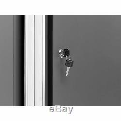 NewAge Products Bold 3.0 6-Pc Set Steel Garage Workbench Cabinets Tool Box Gray