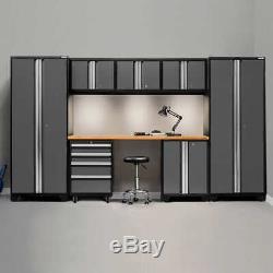 NewAge Products Bold 3.0 Series Storage Cabinet 8-piece Set