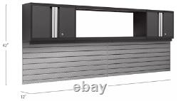 NewAge Products Bold Series 3.0 2-Pc. Cabinet Set 2 Wall Cabinets, 48 Shelf
