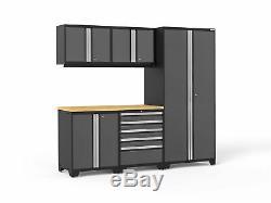 NewAge Products Pro 3.0 Series 5 Piece Storage Cabinet Set