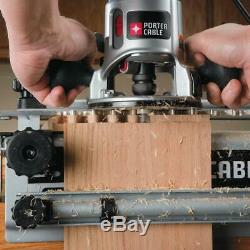 Porter Cable 12 Deluxe Dovetail Jig Combination Kit Woodworking Cabinet Making