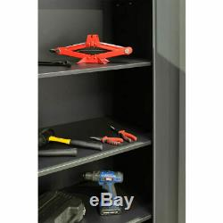 Professional Garage DIY Tool Storage Mechanics 9 Piece Cabinet Set 24 Gauge UK
